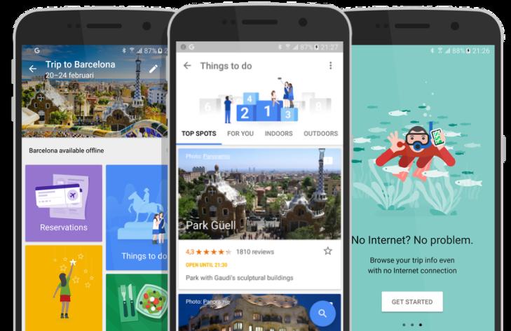 Image result for google trips